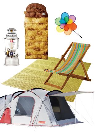 가족 캠핑을 위한 아이템