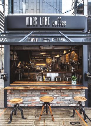 압구정 로데오 거리의 '마크레인 커피'
