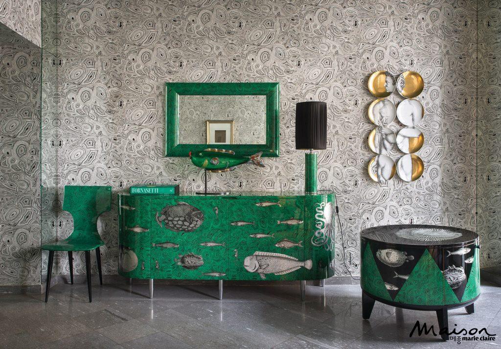Panton is red maison korea - Fornasetti mobili ...