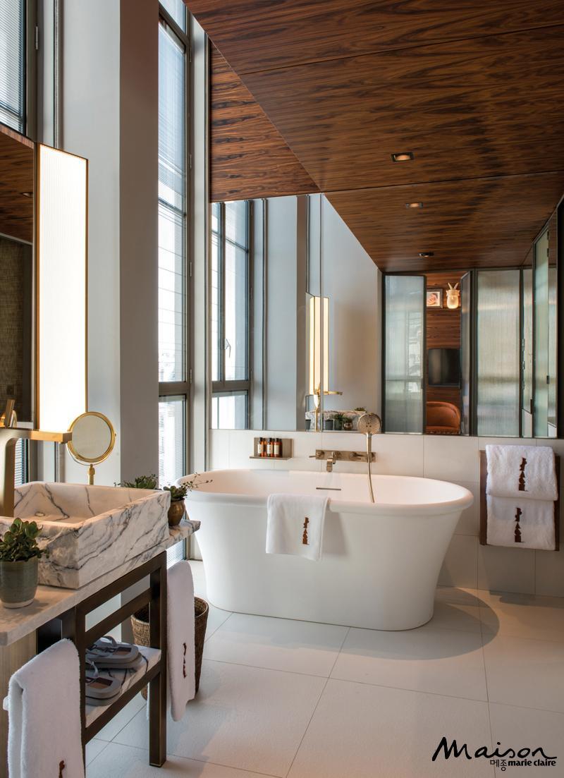 호텔 욕실