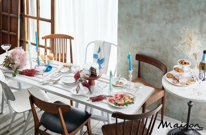 킨포크 스타일 테이블