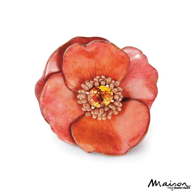 부쉐론 에콰도르 꽃 주얼리