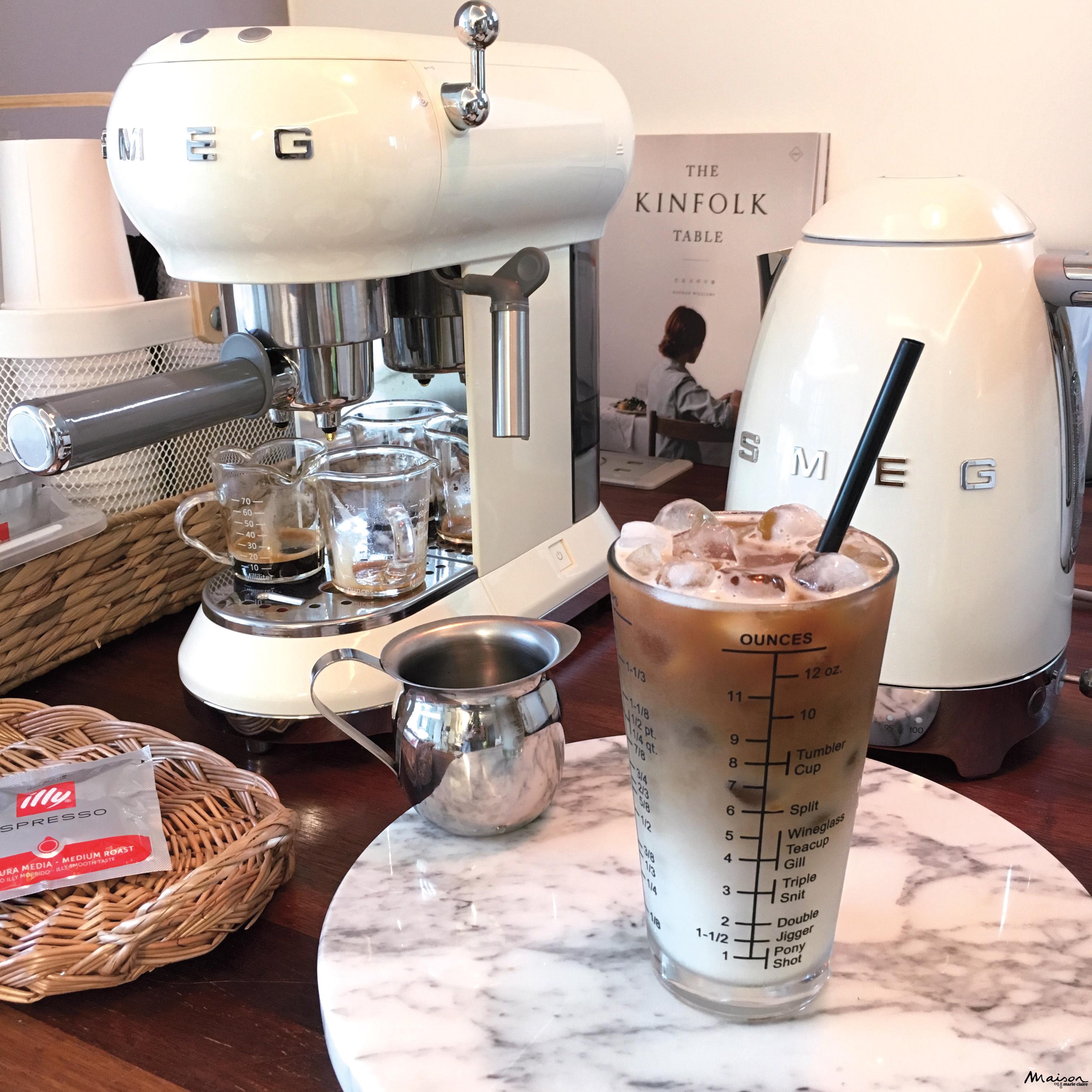 스메그 전기포트 커피머신