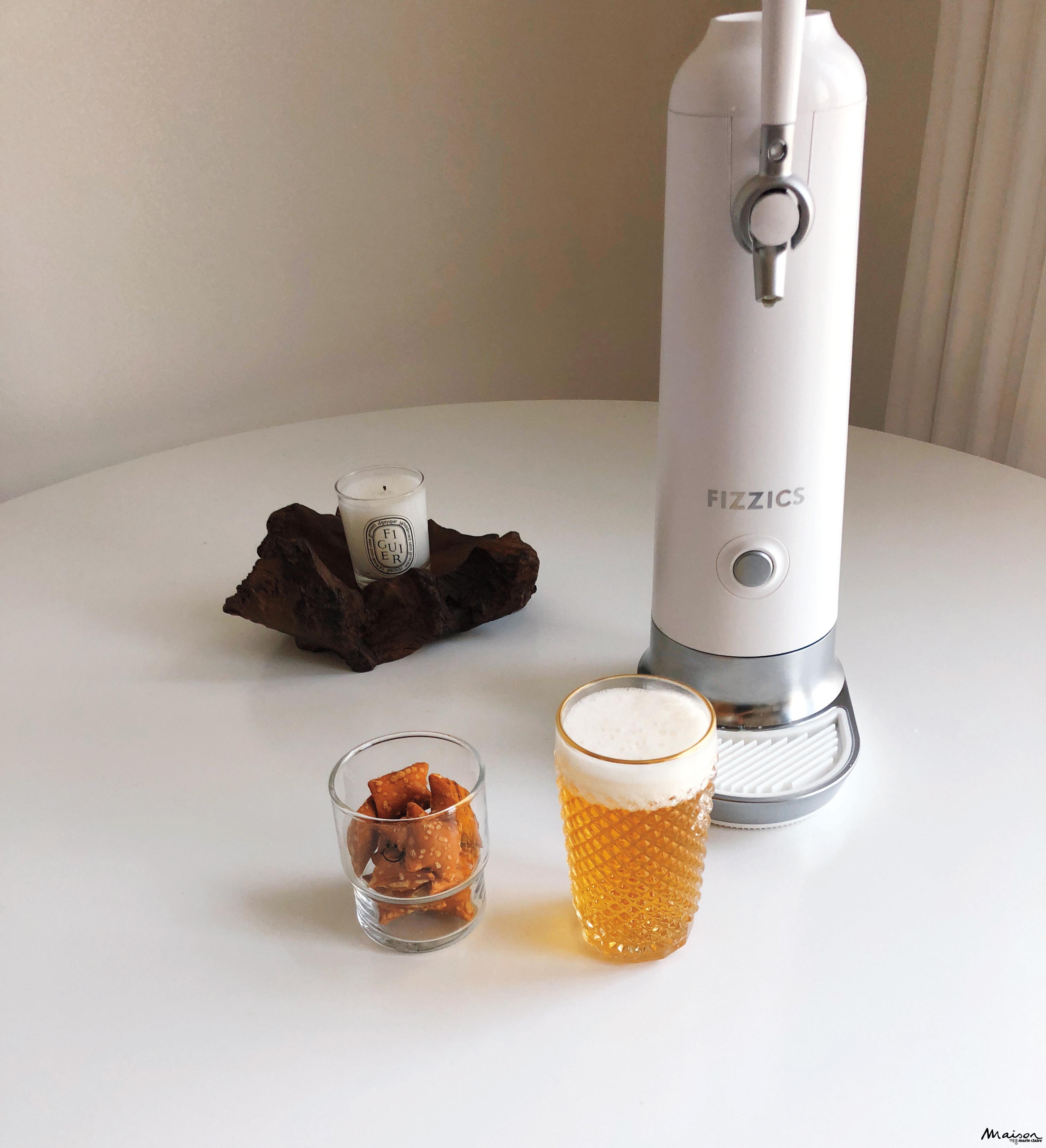 피직스 맥주 크림 제조기