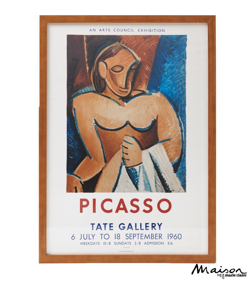 피카소 빈티지 포스터
