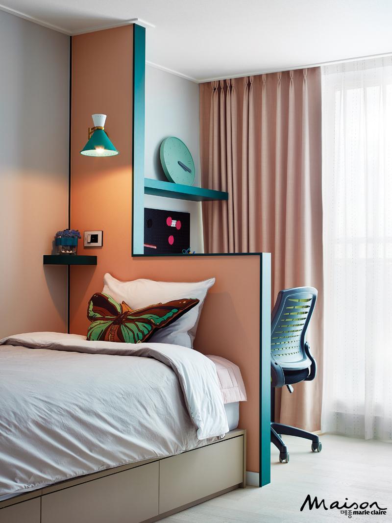 침실 가벽