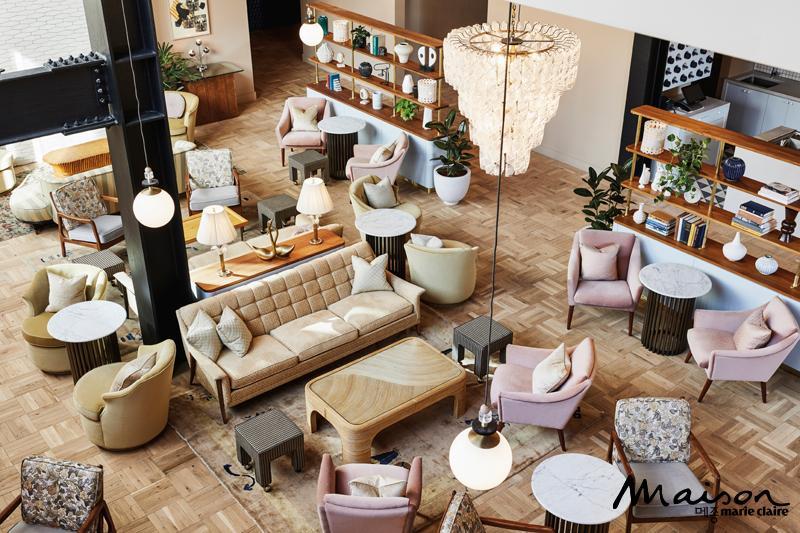 더 혹스턴 호텔 로비