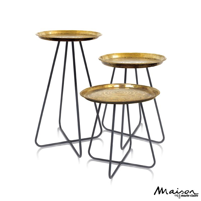 빈티지 사이드 테이블