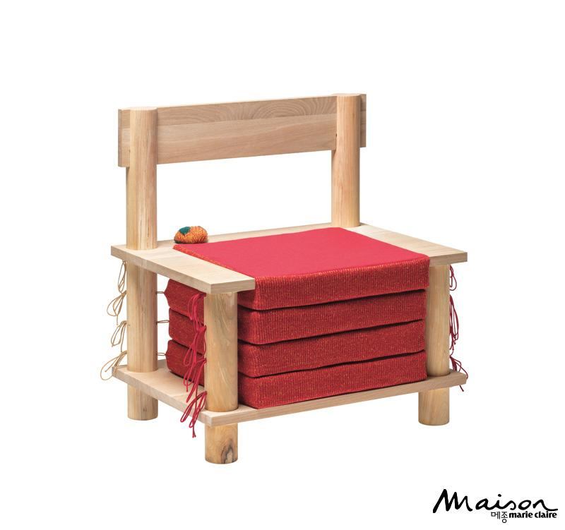 니트 의자