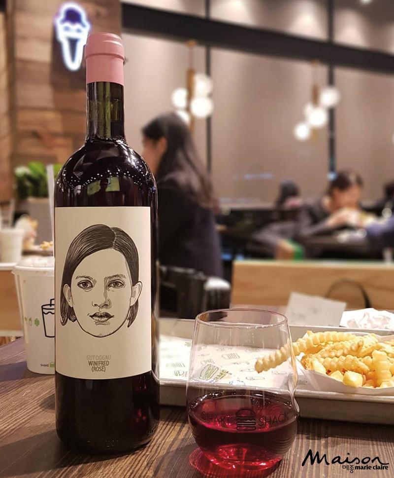 쉐이크쉑 버거 와인