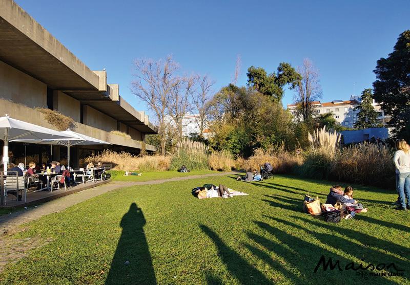 굴벤키안 미술관 정원