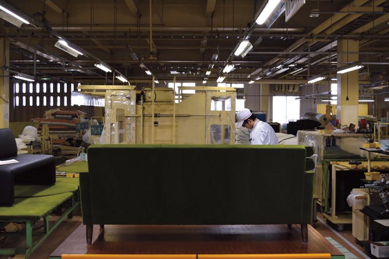 가리모쿠 공장 인테리어