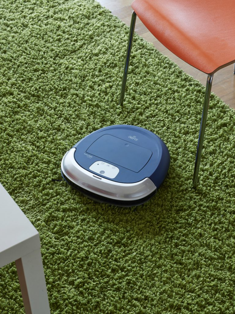로봇 청소기 기가 지니 카펫 청소