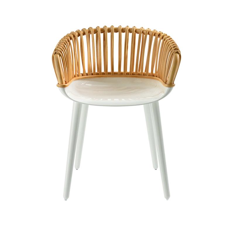 라탄 의자