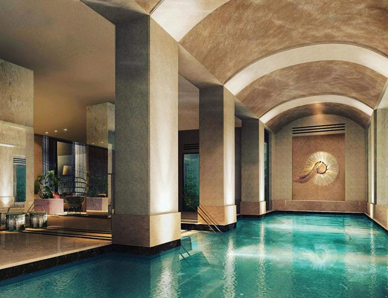 파리 호텔 수영장