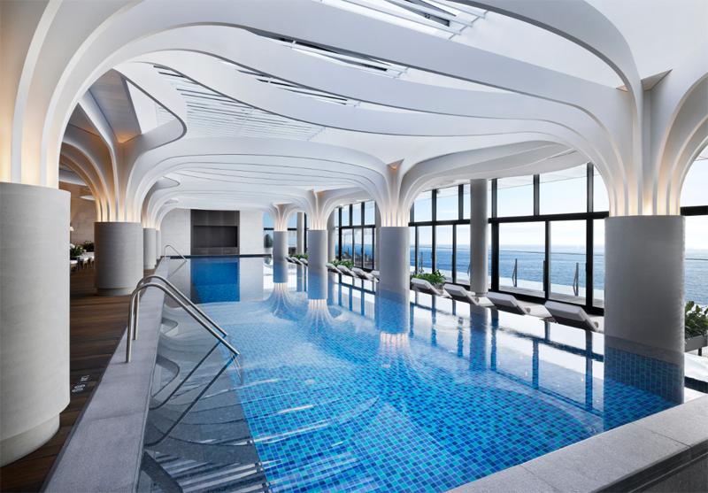 부산 수영장 호텔