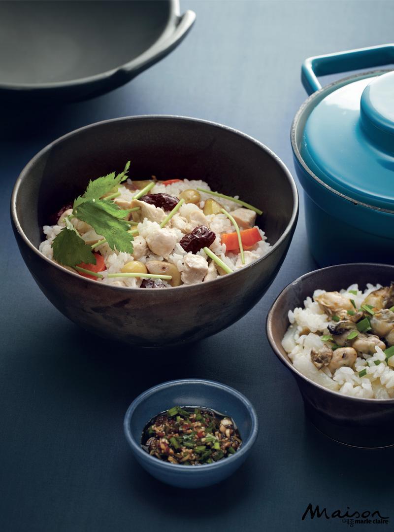 영양밥 만들기