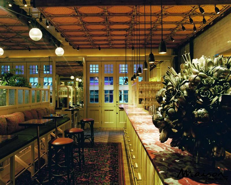 레스토랑, 호텔 바, 런던