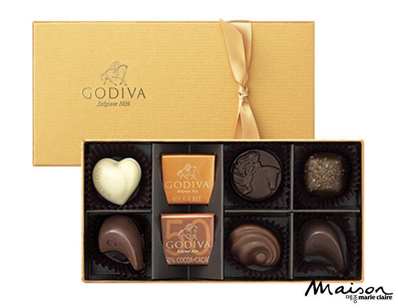 고디바, 초콜릿, 간식