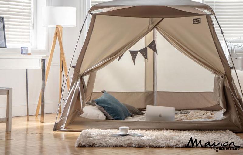 디자인 좋은 텐트, 난방비 절약, 데코 텐트, 파스텔 톤 컬러 텐트, 따수미