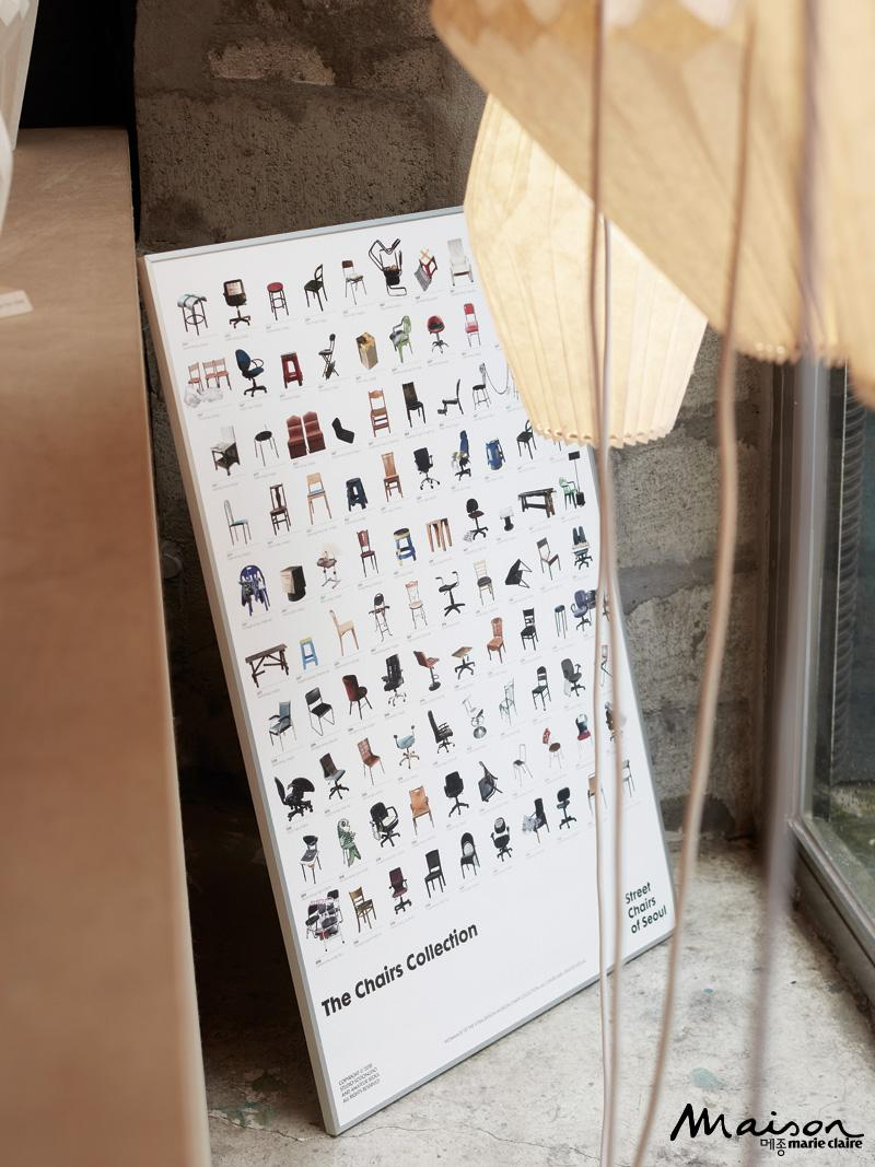 서울의 길거리 의자들 프로젝트, 가구 디자인, 가구 갤러리 전시,