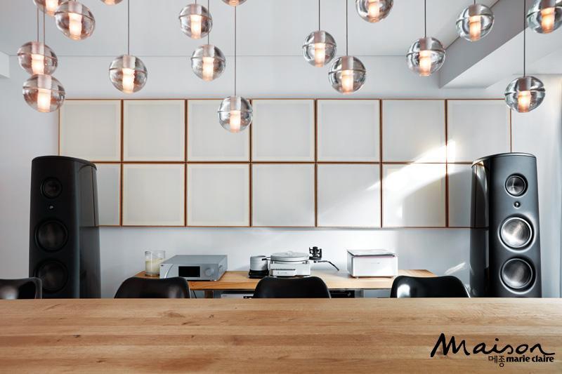 하이엔드 스피커, 매지코, 흡음 패널, 벽면 스타일링 인테리어