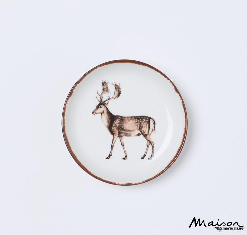 프린트 접시. H&M, 다이닝 제품, 식기