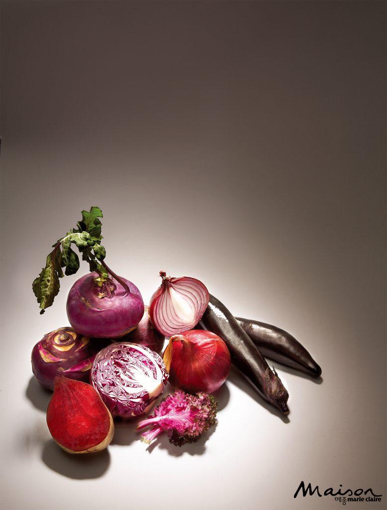 보라색채소, 채소, 동안미모 동안비결