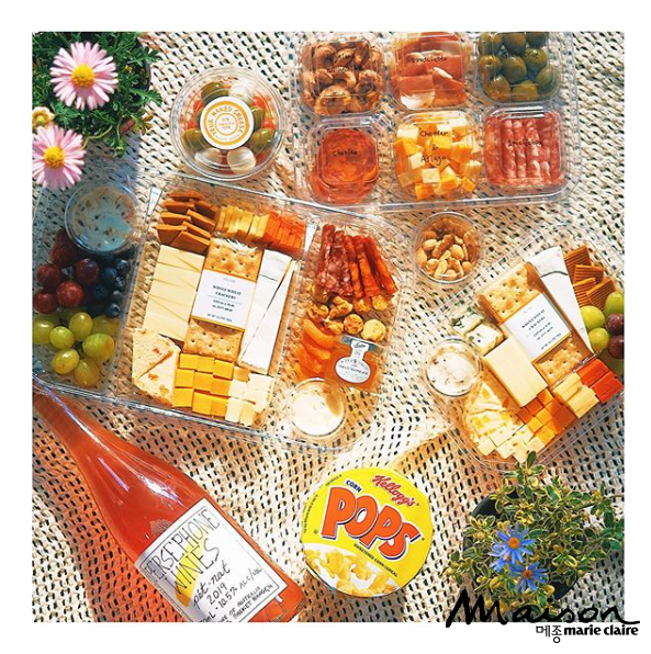 와인배달, 와인피크닉, 피크닉세트, 유어네이키드치즈